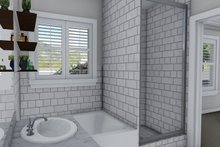 Architectural House Design - Ranch Interior - Master Bathroom Plan #1060-39