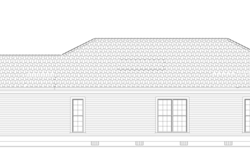 Country Exterior - Other Elevation Plan #17-2970 - Houseplans.com