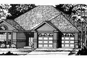 Traditional Exterior - Front Elevation Plan #40-193