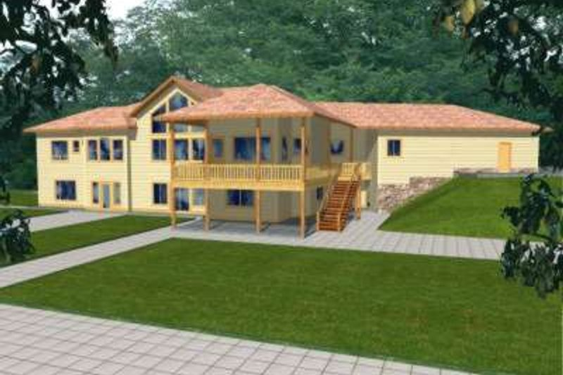 Home Plan - Traditional Exterior - Front Elevation Plan #117-329