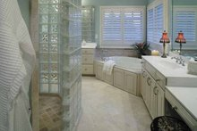 Architectural House Design - Colonial Interior - Master Bathroom Plan #930-220