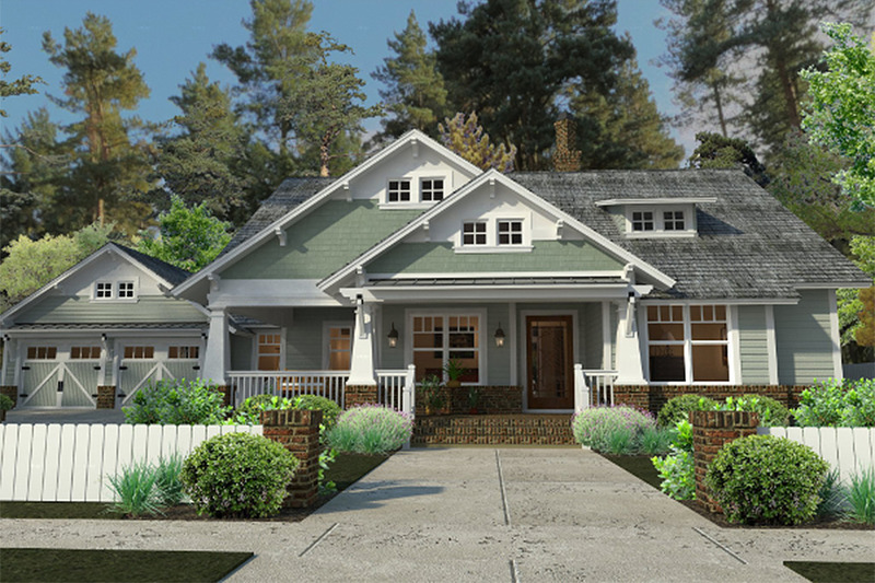 Craftsman home 1900sft by Texas Architect David Wiggins
