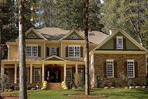 Dream House Plan - Classical Exterior - Front Elevation Plan #927-645