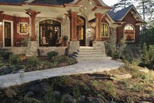 Craftsman Exterior - Front Elevation Plan #54-245