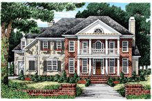 House Plan Design - Classical Exterior - Front Elevation Plan #927-856
