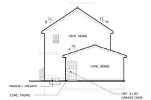 Home Plan - Country Exterior - Other Elevation Plan #1053-15
