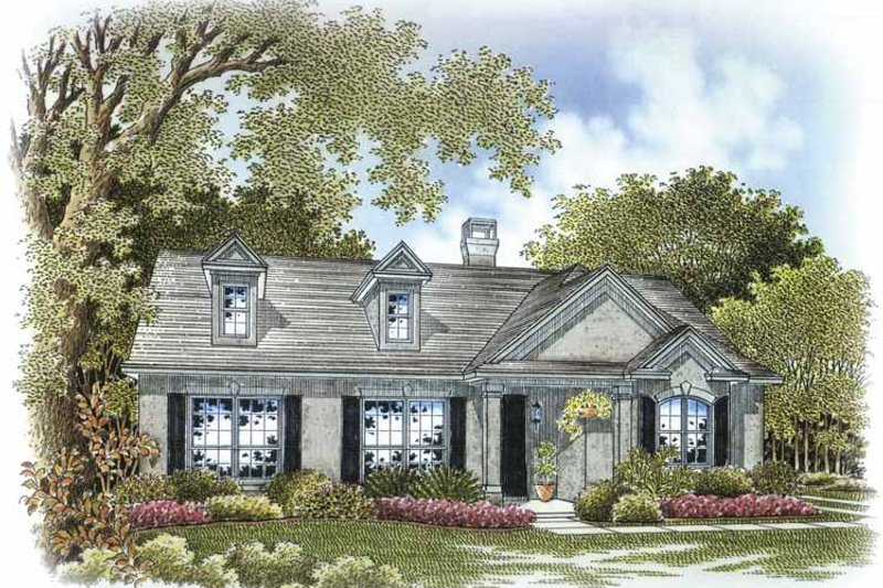 Home Plan - Country Exterior - Front Elevation Plan #999-175