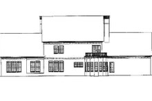 Dream House Plan - Colonial Exterior - Rear Elevation Plan #17-2290