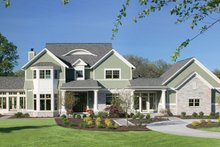 Architectural House Design - Classical Exterior - Front Elevation Plan #928-55