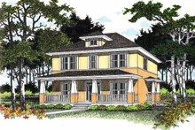 Craftsman Exterior - Front Elevation Plan #472-184