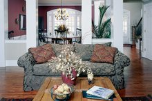 Country Interior - Family Room Plan #927-139