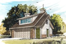Home Plan - Traditional Exterior - Front Elevation Plan #942-53