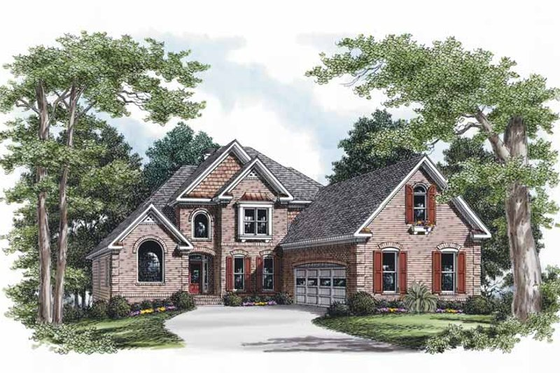 Traditional Exterior - Front Elevation Plan #927-593
