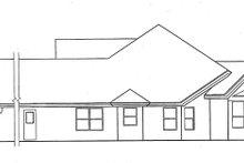 House Plan Design - Mediterranean Exterior - Other Elevation Plan #417-787