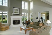 Traditional Style House Plan - 3 Beds 3.5 Baths 3604 Sq/Ft Plan #928-222 Interior - Family Room