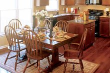 Home Plan - Classical Interior - Dining Room Plan #927-655