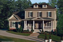 Traditional Exterior - Front Elevation Plan #54-342