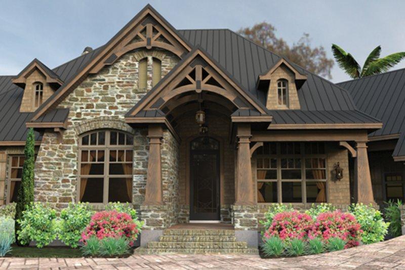Craftsman Exterior - Front Elevation Plan #120-246 - Houseplans.com