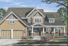 Home Plan - Craftsman Exterior - Front Elevation Plan #46-859