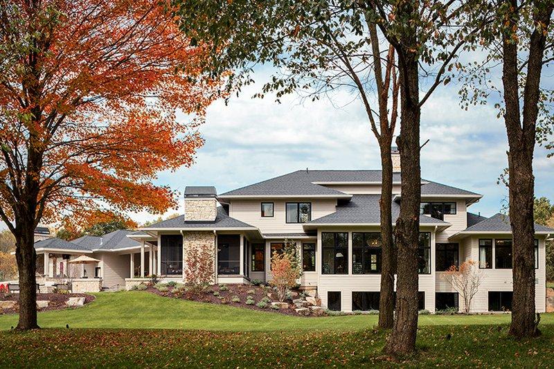 Contemporary Exterior - Rear Elevation Plan #928-287 - Houseplans.com