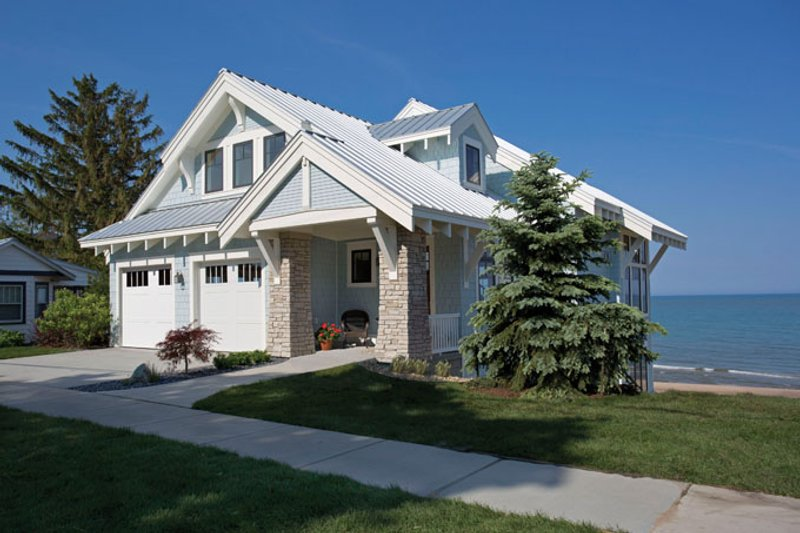 House Plan Design - Craftsman Exterior - Front Elevation Plan #928-268