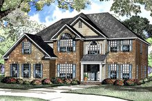 Home Plan - Traditional Exterior - Front Elevation Plan #17-3251