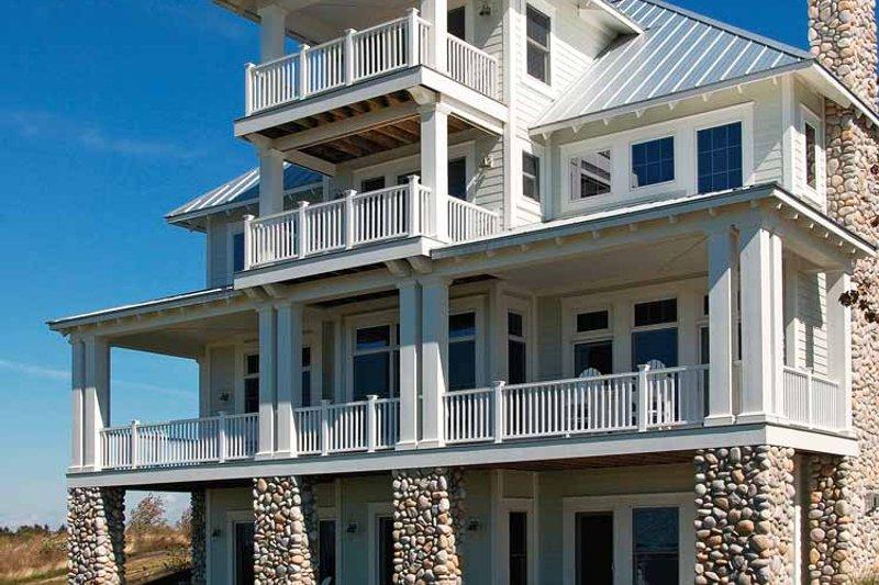 Craftsman Exterior - Rear Elevation Plan #928-59 - Houseplans.com