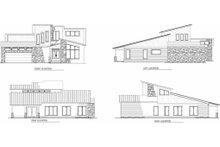 Modern Exterior - Other Elevation Plan #17-2602