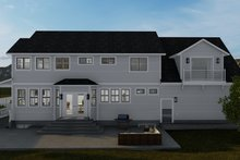 Home Plan - Victorian Exterior - Rear Elevation Plan #1060-51