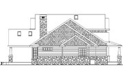 Craftsman Style House Plan - 4 Beds 3.5 Baths 2674 Sq/Ft Plan #124-582 Exterior - Other Elevation