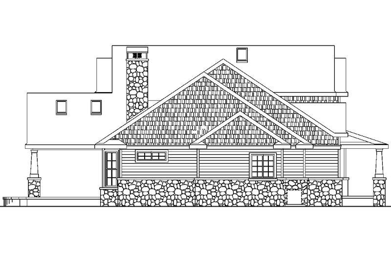 Craftsman Exterior - Other Elevation Plan #124-582 - Houseplans.com