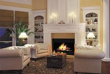 Mediterranean Interior - Family Room Plan #930-42