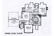 Colonial Style House Plan - 4 Beds 3.5 Baths 4000 Sq/Ft Plan #310-950