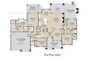 Farmhouse Style House Plan - 4 Beds 3 Baths 2353 Sq/Ft Plan #120-264 Floor Plan - Main Floor Plan