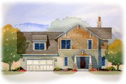 Craftsman Style House Plan - 4 Beds 2.5 Baths 1939 Sq/Ft Plan #901-82 Exterior - Front Elevation