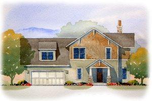 Craftsman Exterior - Front Elevation Plan #901-82