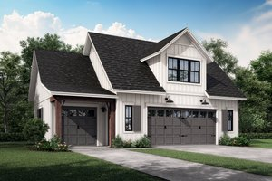 Farmhouse Exterior - Front Elevation Plan #430-237