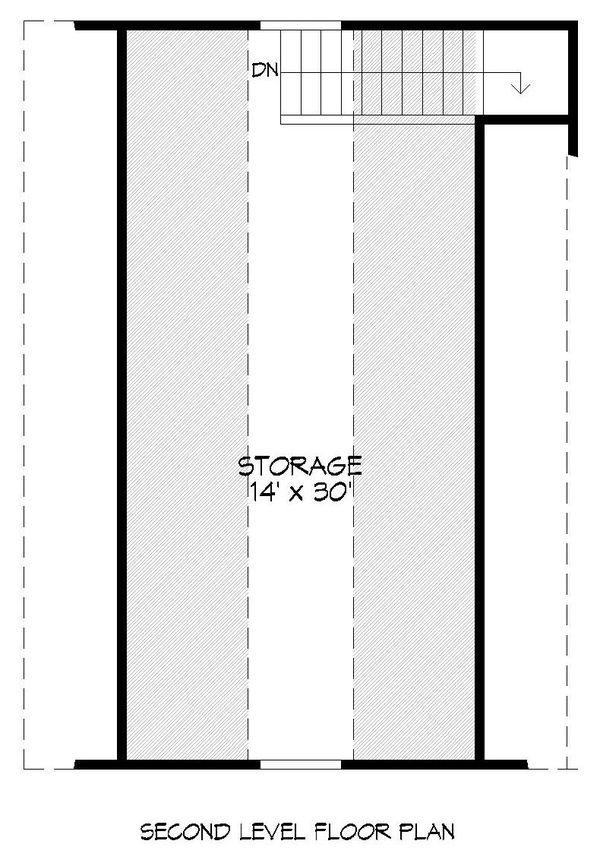 Dream House Plan - Country Floor Plan - Upper Floor Plan #932-242