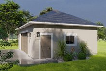 House Plan Design - Traditional Exterior - Other Elevation Plan #1060-91