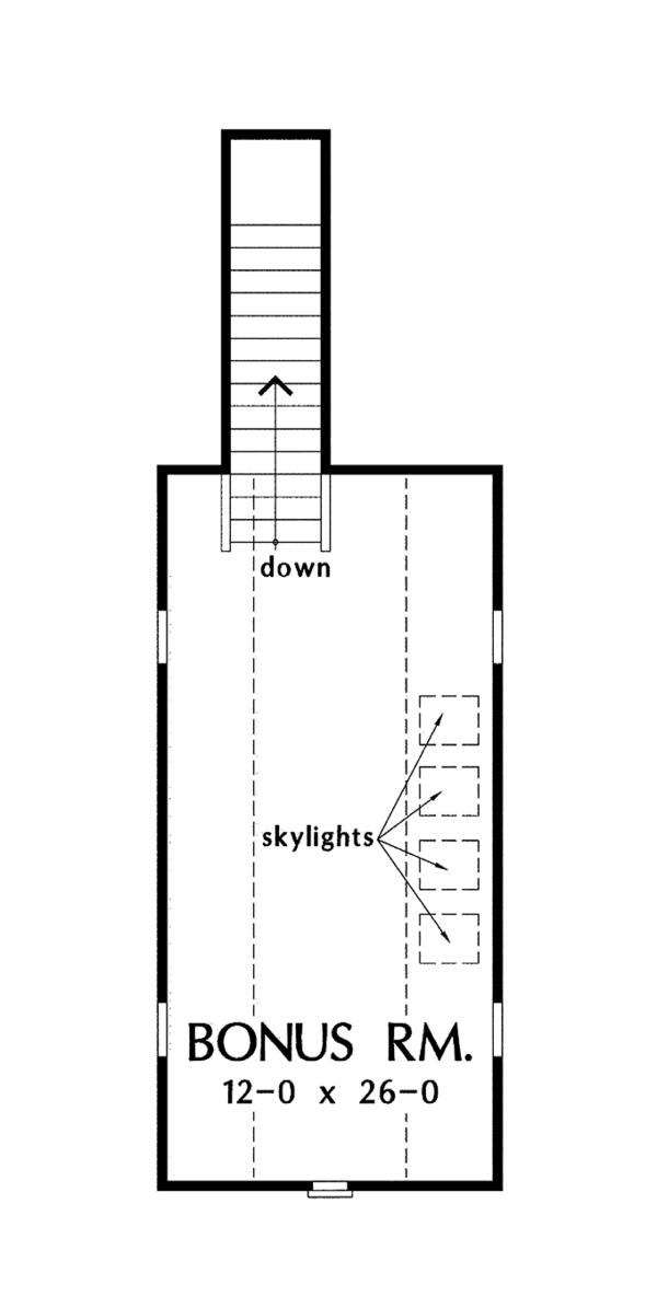 Traditional Floor Plan - Other Floor Plan Plan #929-965