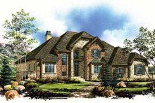 Country Exterior - Front Elevation Plan #945-67