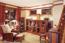 Craftsman Interior - Family Room Plan #46-749
