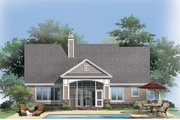 Craftsman Style House Plan - 3 Beds 2 Baths 2108 Sq/Ft Plan #929-916 Exterior - Rear Elevation