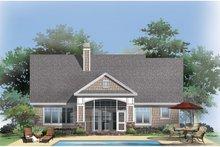 Architectural House Design - Craftsman Exterior - Rear Elevation Plan #929-916