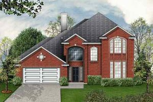 Traditional Exterior - Front Elevation Plan #84-140