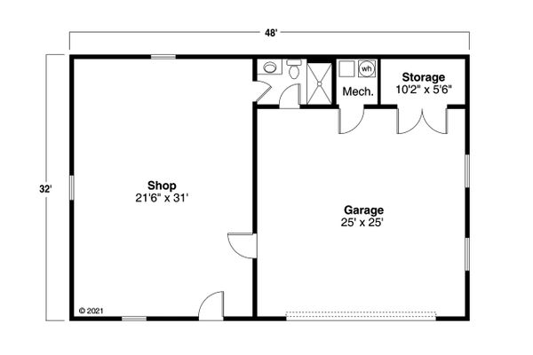 Dream House Plan - Traditional Floor Plan - Main Floor Plan #124-1236
