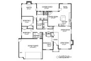 Traditional Style House Plan - 4 Beds 2 Baths 2085 Sq/Ft Plan #133-106 Floor Plan - Main Floor Plan