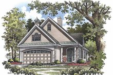 Home Plan - Ranch Exterior - Front Elevation Plan #929-825