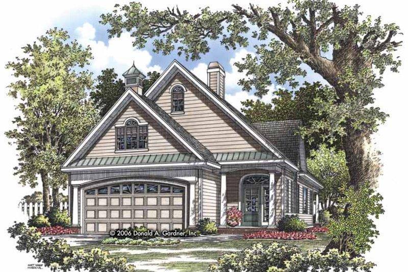 House Plan Design - Ranch Exterior - Front Elevation Plan #929-825