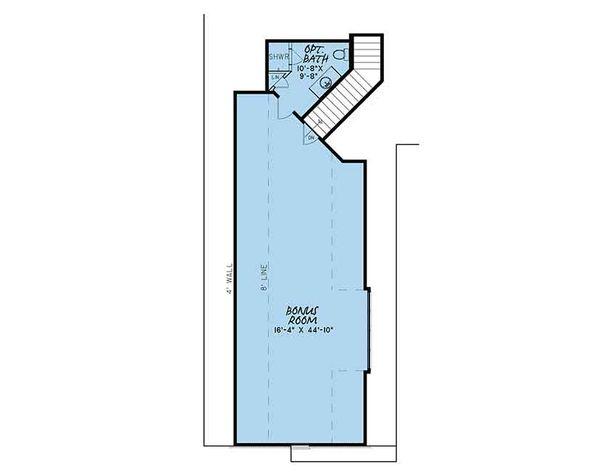 European Floor Plan - Other Floor Plan Plan #17-3414